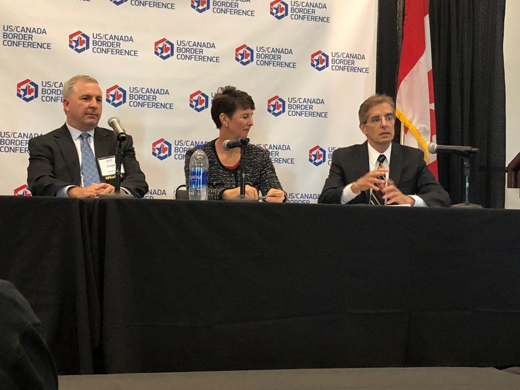Al Gina speaks at 2018 U.S. Canada Border Conference