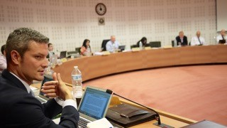Andrew Farrelly Speaking at the WCO in Brussels
