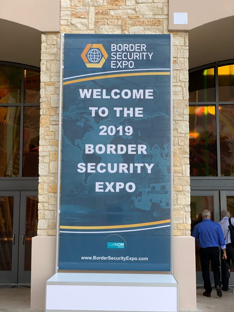 Border Security Expo Welcome Banner